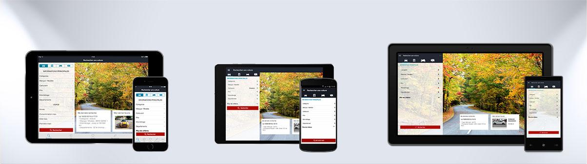 LC Désormais à portée de main sur iPhone, iPad et Android !